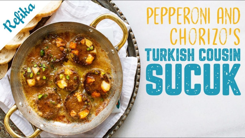 It's Pepperoni, It's Chorizo… No, It's Sucuk! | Homemade Turkish Sucuk Recipe