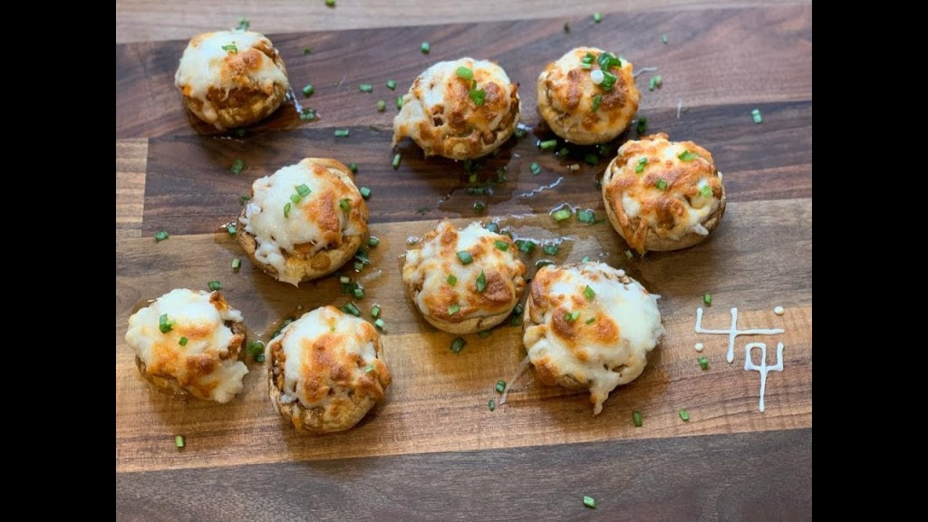Read more about the article قارچ شکمپُر با نواب – Navab make grill mushrooms with meat sauce