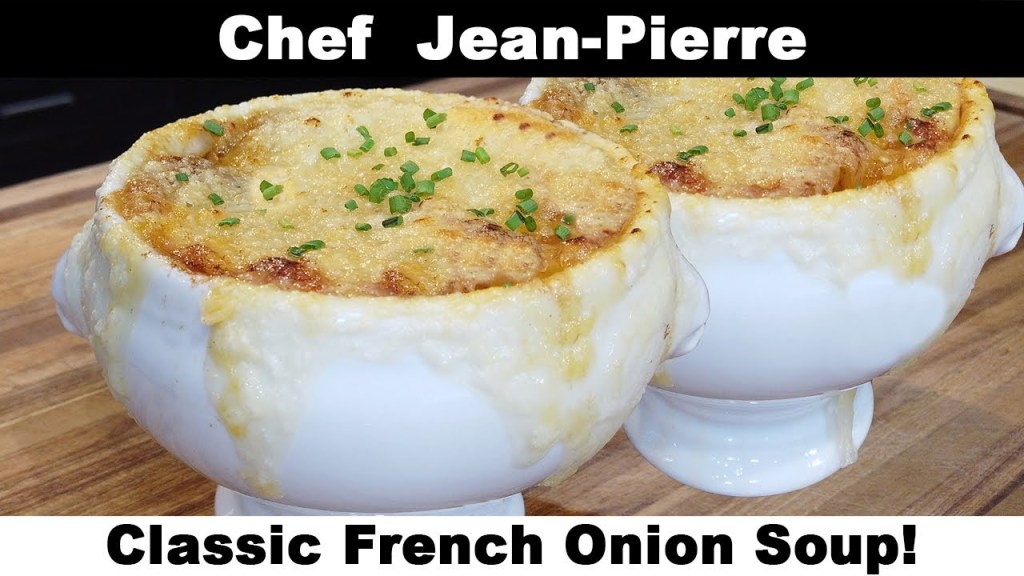 Classic French Onion (Onyo) Soup! – Chef Jean-Pierre