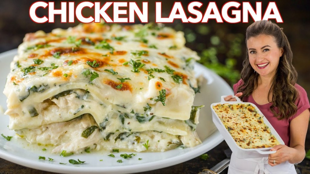 Read more about the article Easy CHICKEN LASAGNA With Creamy White Sauce