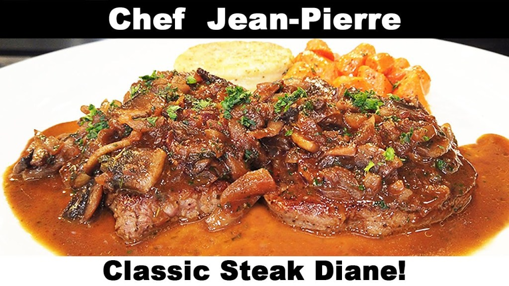 Read more about the article Classic Steak Diane – Chef Jean-Pierre
