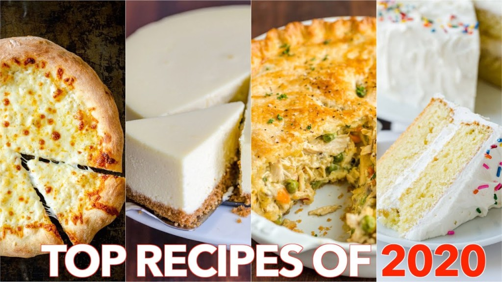 TOP 5 (MOST VIRAL) RECIPES OF 2020