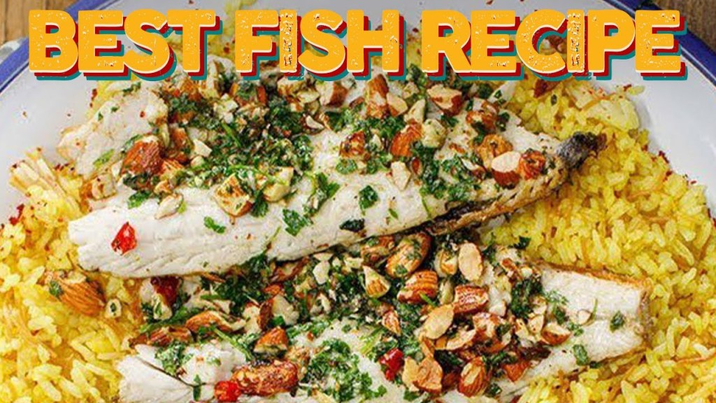 Read more about the article THE BEST Fish Recipe That Will Make Everyone Enjoy Fish! Green seabass & Cauliflower Pilav