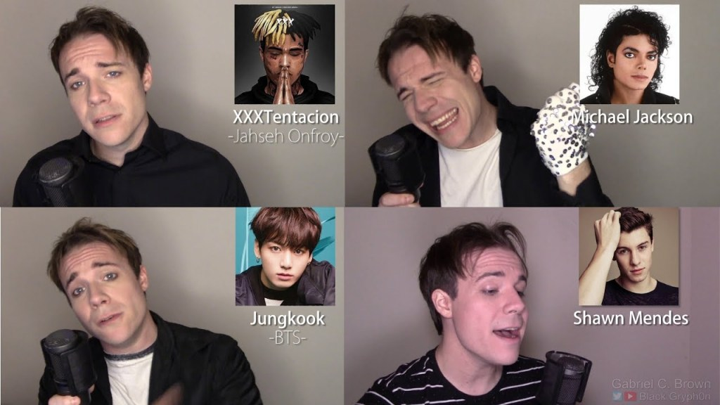 ONE GUY, 54 VOICES (With Music!) Drake, TØP, P!ATD, Puth, MCR, Queen – Famous Singer Impressions