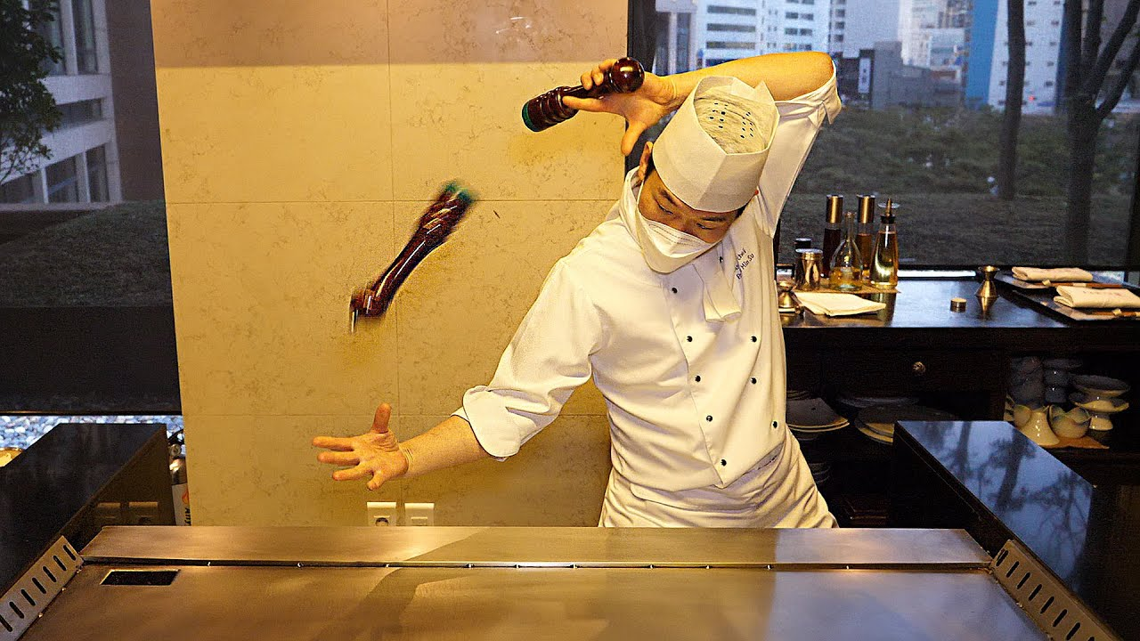 Read more about the article Teppanyaki cuisine at a luxury 5-star hotel