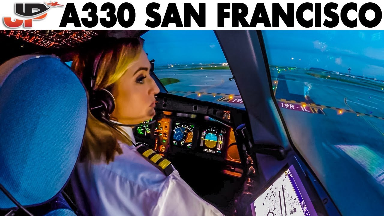 Read more about the article Piloting AIRBUS A330 out of San Francisco | Cockpit Views