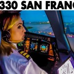Read more about the article Piloting AIRBUS A330 out of San Francisco   Cockpit Views