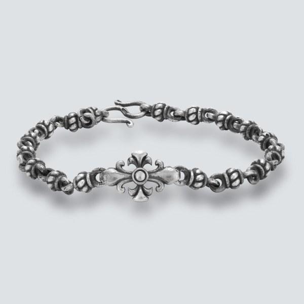 Fleur de Lys Chain Bracelet