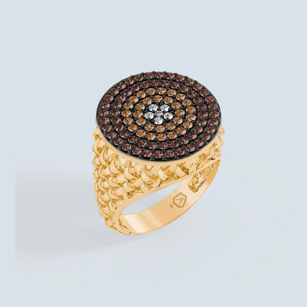 Macrame Round Ring