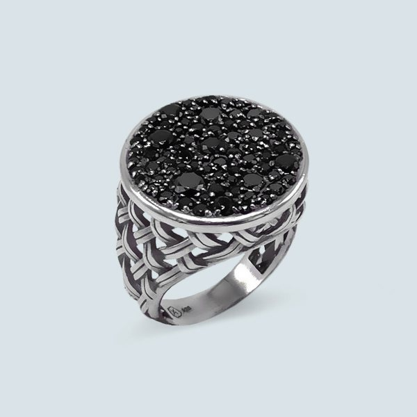 Macrame Side Ring