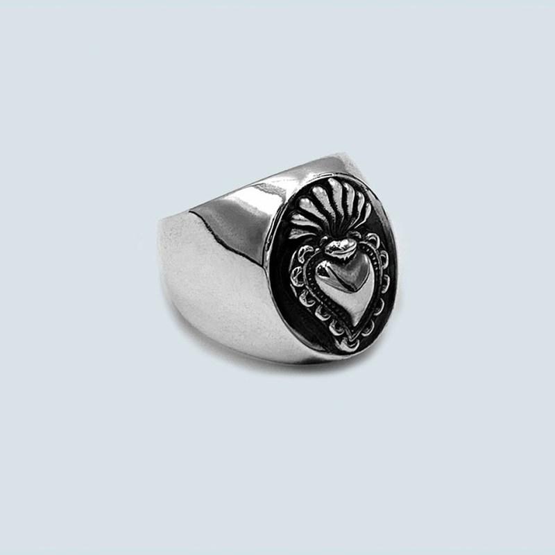 silver men ring