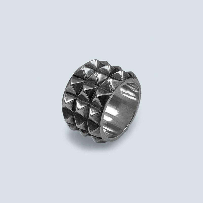 silver ring men