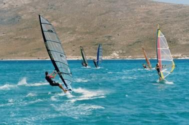 Windsurfing!