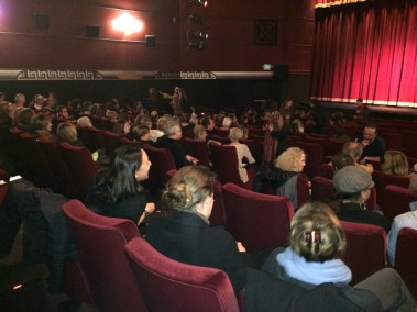 Theater Was Near Capacity
