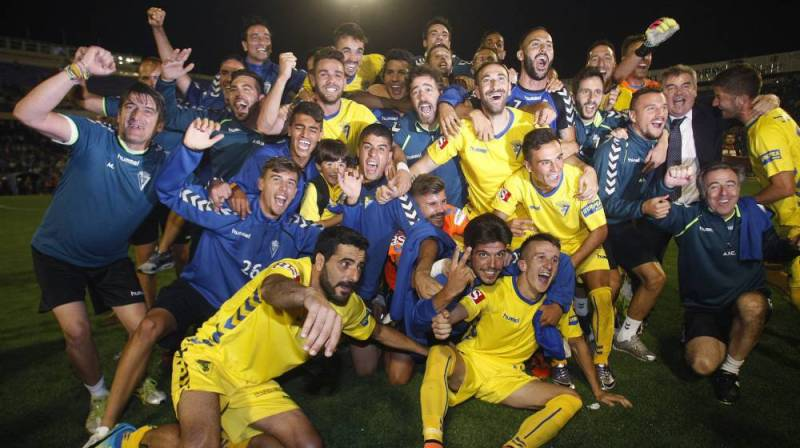 El Cádiz vuelve a Segunda - AS.com
