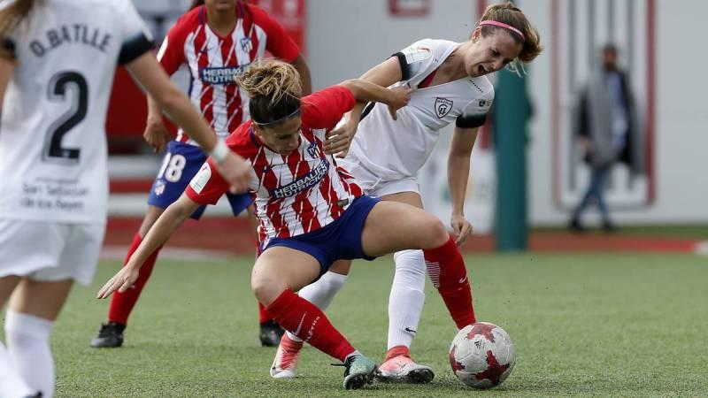 El Atlético Femenino se lleva el derbi ante un peleón Madrid CFF - AS.com