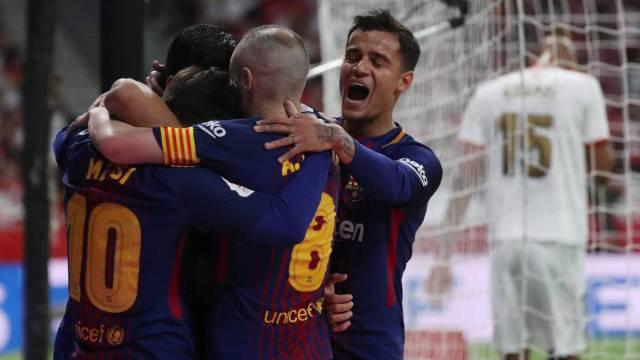 Coutinho at Barcelona