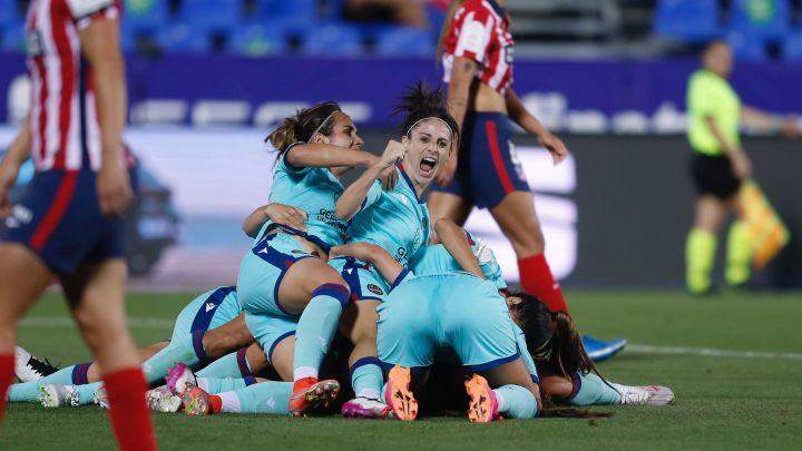 Atlético 0-1 Levante: Una épica Rocío Gálvez lleva al Levante a la final de  Copa - AS.com