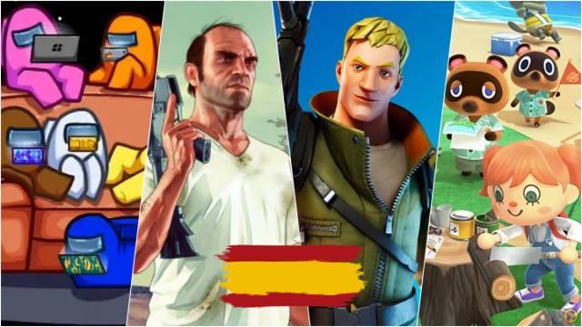 A qué se juega más en España? Top-10 videojuegos más jugados en 2020 -  MeriStation