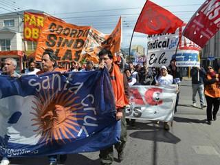 Absolución a los presos de ATE Santa Cruz