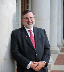 Dean Robert Olin of the College of Arts and Sciences