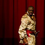 Othello alone on the stage