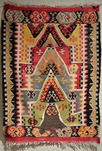 Turkish prayer kilim, c. 1925