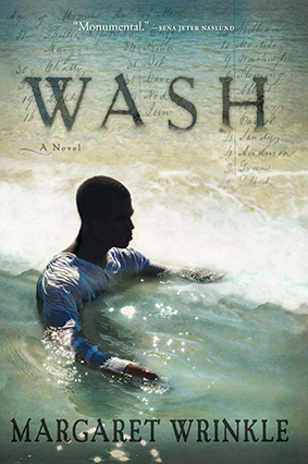 """cover of the novel """"Wash"""""""
