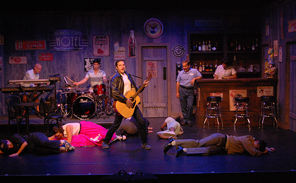 """A scene from """"All Shook Up"""""""
