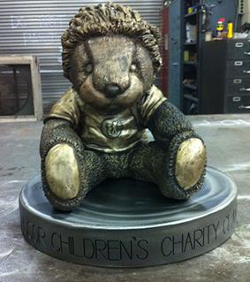 Sculpture by Assoicate Professor Craig Wedderspoon