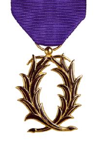 Order des Palmes Académiques Medal