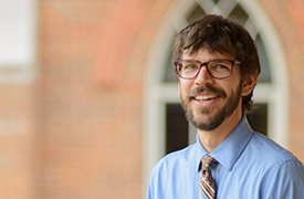 Dr. Michael Altman of the religious studies department