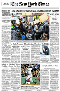 Blinder's pieces have frequently made the cover of the Times, as he has reported on some of the most significant events in recent history.