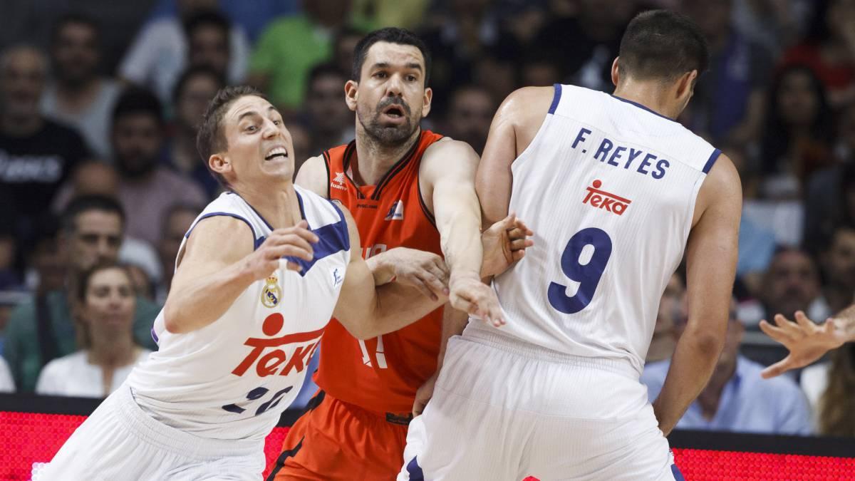 Resultado de imagen de valencia basket real madrid