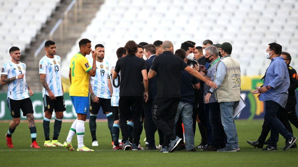 Comunicado de la FIFA tras la suspensión del Brasil-Argentina - AS Argentina