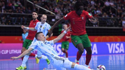 Argentina 1-2 Portugal: resumen, resultado y goles del partido - AS Argentina