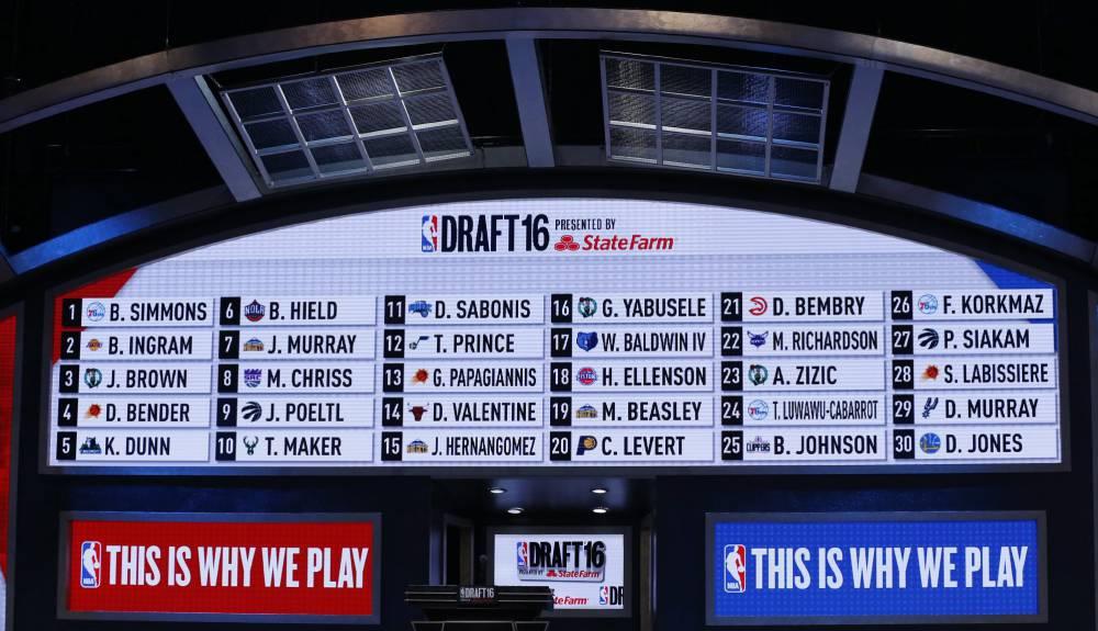 Resultado de imagen de draft 2016