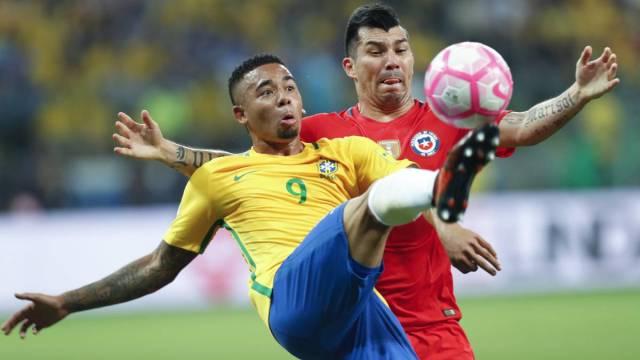 Brasil 3-0 Chile: La Roja queda fuera del Mundial de Rusia