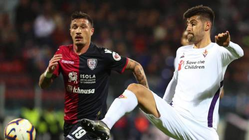 Image result for Cagliari vs Fiorentina photos