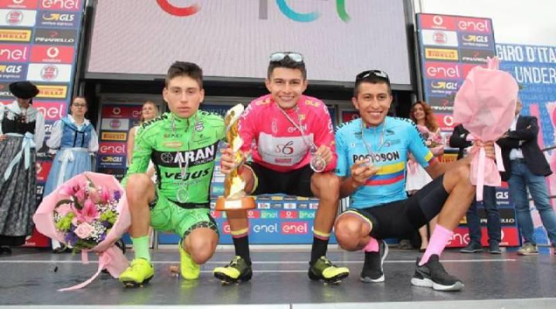 Nuevas joyas del ciclismo colombiano llegan al WorldTour