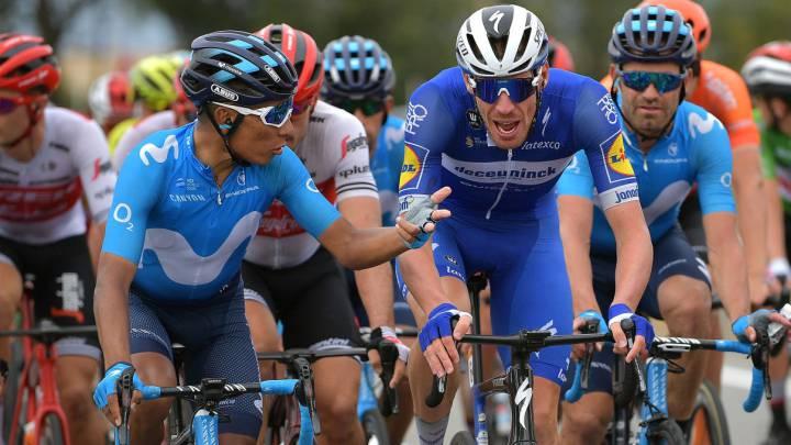 Nairo Quintana durante la etapa 19 de La Vuelta 2019