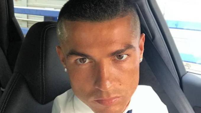 real madrid | cristiano ronaldo shows off new look after champions