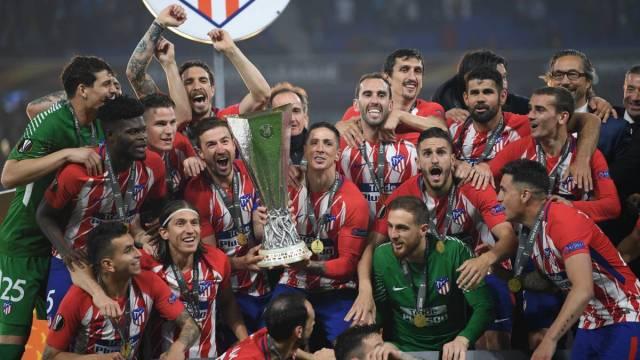 Europa League Final 2018: Marseille 0-3 Atletico Madrid live