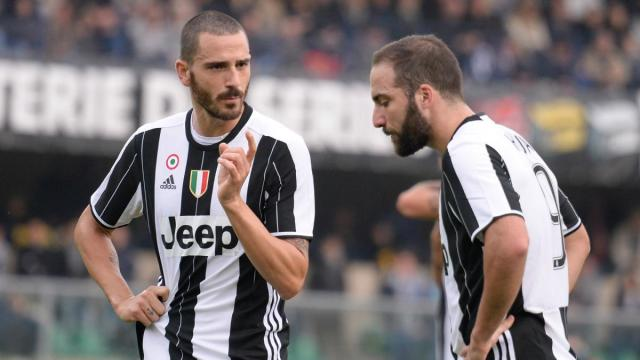 Allegri confirms Bonucci swap with Higuain & Caldara