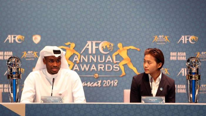 Qatari defender Hassan named Asian Player of the Year