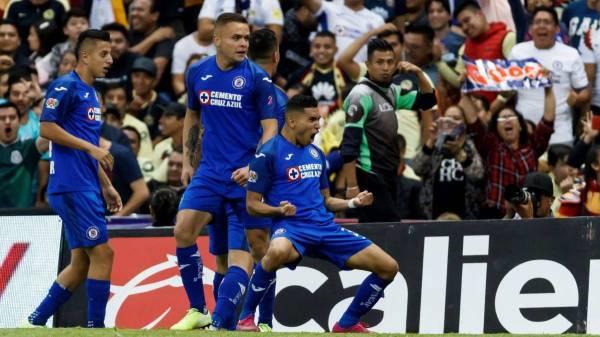 Cruz Azul never scored five goals to America before