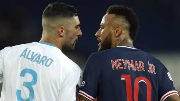 """Racism No"": Neymar accuses Marseille's Álvaro of racism during heated Classique"
