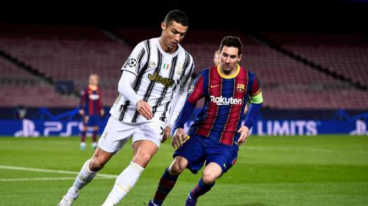 Messi joins Ronaldo in European league record books with 25th LaLiga goal of season
