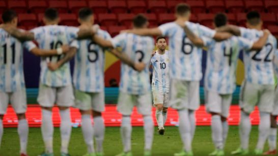 Argentina advance in shootout to reach Copa America final