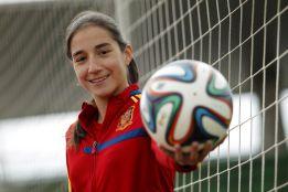 """Lucía Rodríguez: """"Cuesta asimilar que estoy en la Selección"""""""